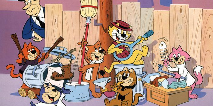I gatti dei cartoni animati produzioni da vedere donnad